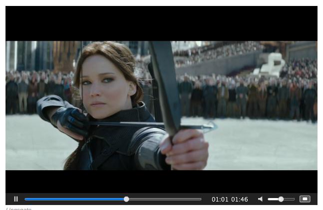 Mockingjay Part 2 screenshot of Katniss