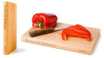 romeo and julienne chopping board