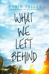What We Left Behind book cover
