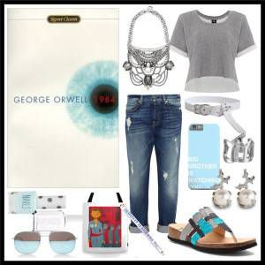 Book Style: 1984 by George Orwell