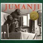 Jumanji by Chris Van Allsburg book