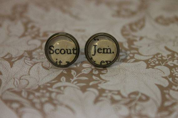 TKAM scout jem earrings