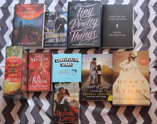 book riot live giveaway