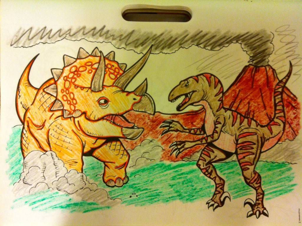 dinosaurs coloring