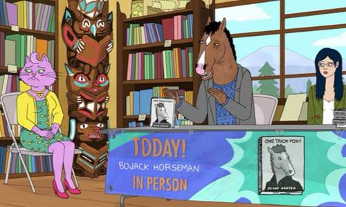 Bojack Horseman Bookish Book Tour