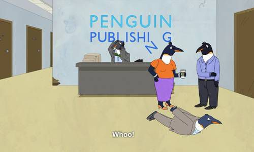 Bojack Horseman Bookish Penguin Publishing