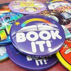 Pizza Hut Book-It Button