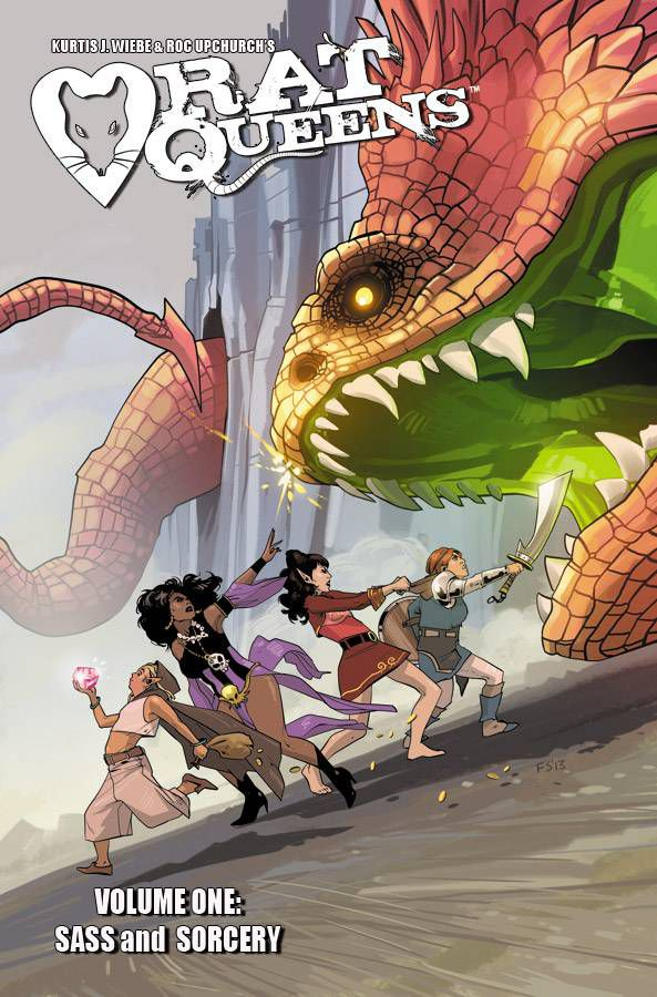Rat Queens, Vol. 1- Sass & Sorcery