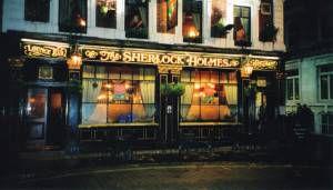 sherlock holmes pub and restaurant