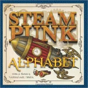 Steampunk Alphabet by Nat Iwata