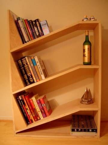 angled shelf