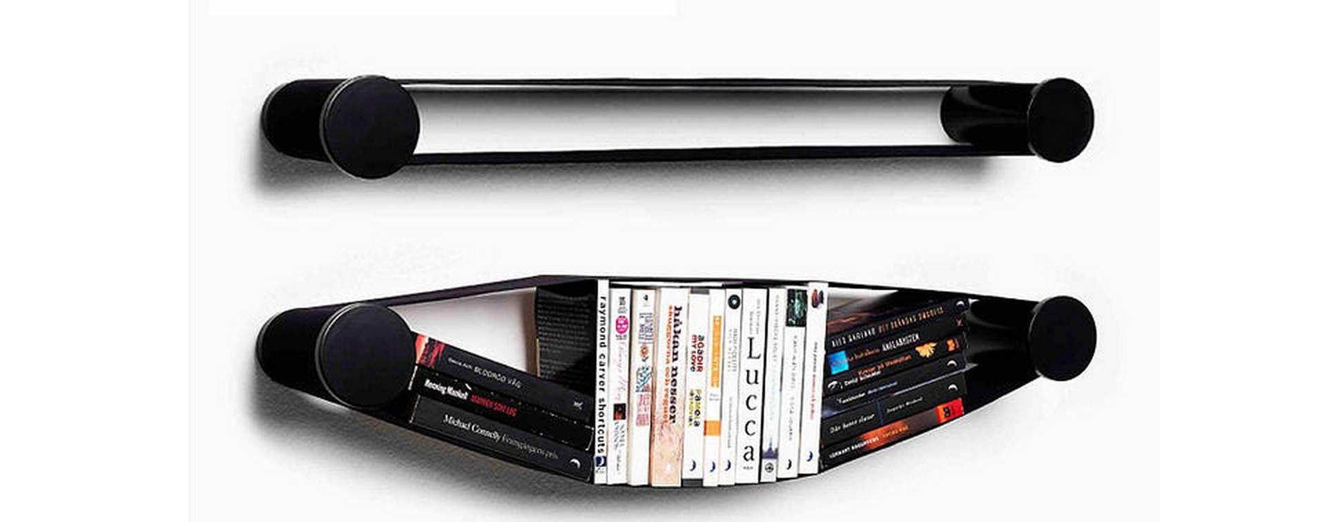 elastic bookcase