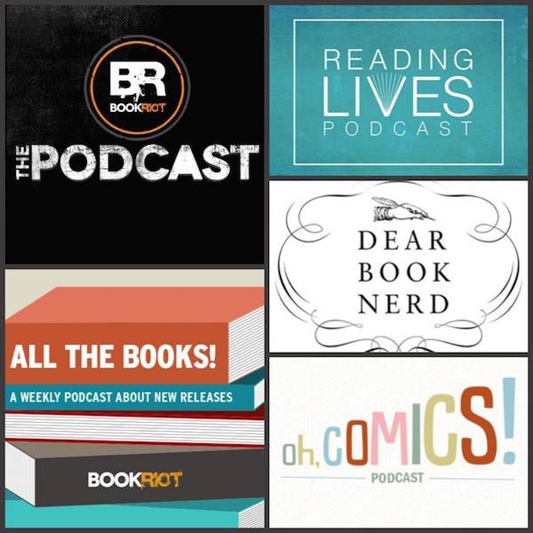 book riot podcast collage