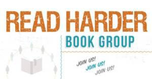 read harder book group logo