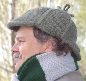 Elementary - Deerstalker hat by gari lynn from ravelry