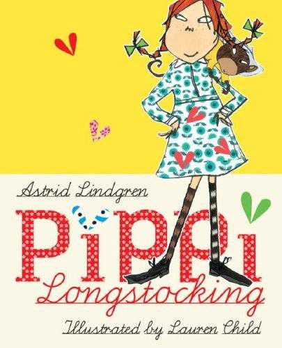 Pippi Longstocking il. by Lauren Child HC
