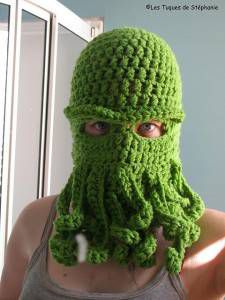 Sea Monster Cthulhu Inspired by Les Tuques De Stephanie from ravelry