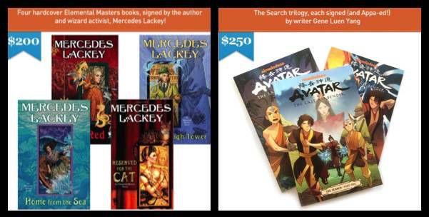 HPA Signed Books Reward