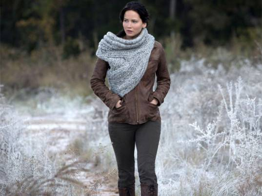 I Crocheted Katnisss Cowl From Catching Fire