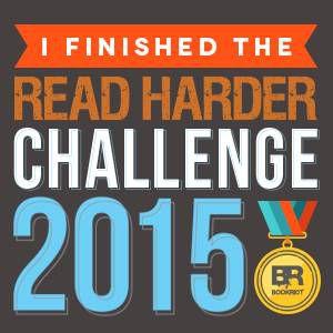 read harder finisher badge 2015