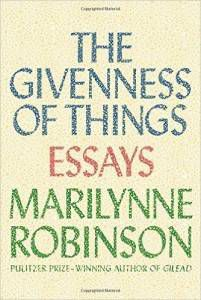 givenness of things cover