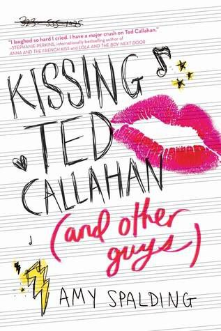 April Kissing Ted Callahan