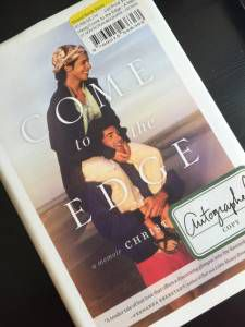 Come to the Edge by Christina Haag - at Strand Books