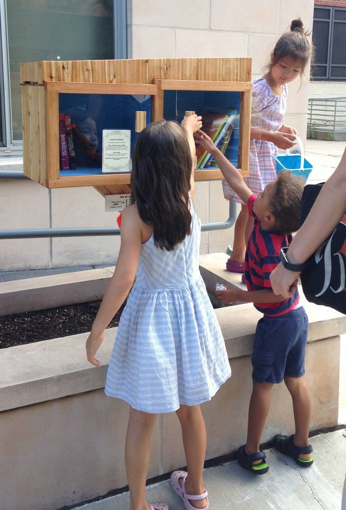 Little Free Library Patrons