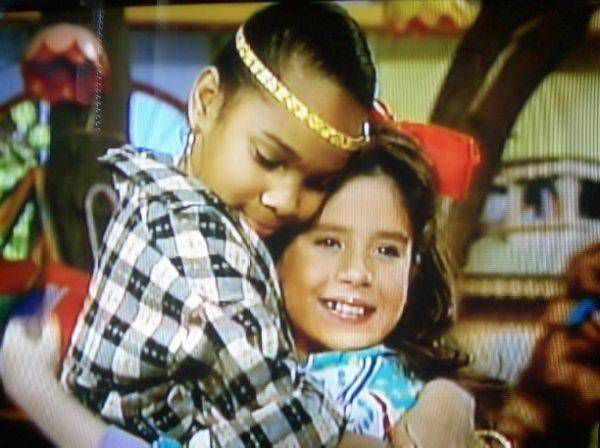 Punky Brewster and Cherie Johnson