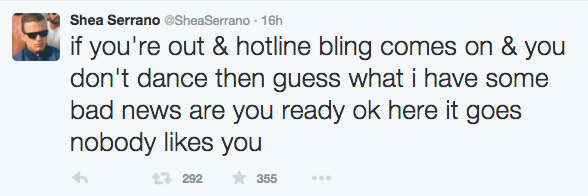 Serrano Tweet 2
