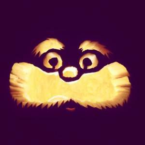 The Lorax Pumpkin