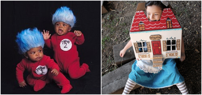 the 9 best halloween costumes based on children s books ranked