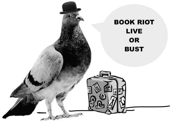 Book Riot Live or Bust