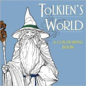 tolkiens world coloring book