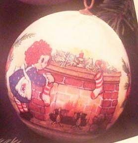 1976 Raggedy Ann Hallmark Ornament