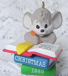 1989 Teacher Hallmark Ornament