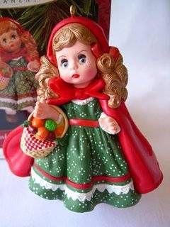 1991 Little Red Ridding Hood Hallmark Ornament