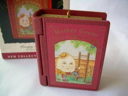 1993 Mother Goose Humpty Dumpty Hallmark Ornament
