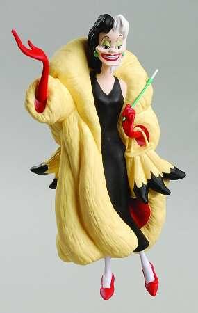 1998 Cruella De Vil Hallmark Ornament