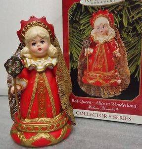 1999 Red Queen Hallmark Ornament