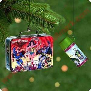 2000 Super Friends Lunchbox Hallmark Ornament