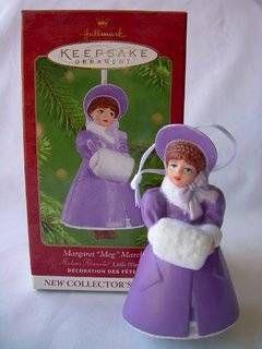"2001 Margaret ""Meg"" March Little Women Hallmark Ornament Madame Alexander"