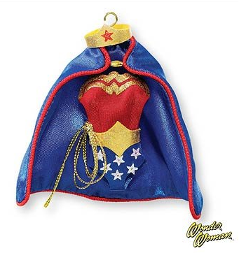 2007 A Real Wonder Woman Hallmark Keepsake Ornament