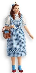 2007 Dorothy Gale Wizard of OZ Hallmark ornament