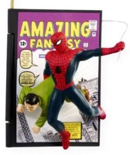 2009 Comic Book Heroes #2 - Spiderman Hallmark ornament