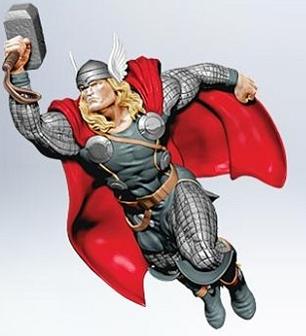 2011 Thor Hallmark ornament