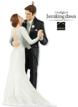 2012 Edward and Bella's Wedding - Twilight Hallmark ornament