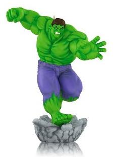2014 Hulk Smash Hallmark Ornament