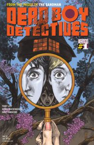 Dead Boy Detectives (2014) #1, cover by Mark Buckingham and Gary Erskine