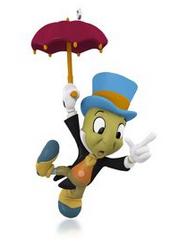 Disney Pinocchio Jiminy Cricket Ornament
